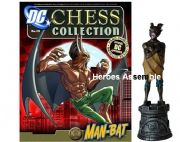 DC Chess Figurine Collection #24 Man Bat Black Rook Eaglemoss